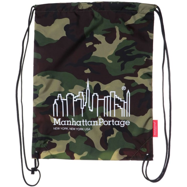 マンハッタンポーテージ Manhattan Portage CORDURA® Lite Collection Drawstring Bag (W.Camo)