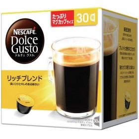 ネスレ日本 ネスカフェ ドルチェグスト専用カプセル リッチブレンド 1箱(30杯分)