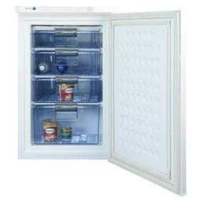 【送料無料】NORFROST(ノーフロスト)  85L冷凍庫 | 庫内温度調整ダイヤル付 | 4段スライド透明バスケット | ホワイト | FFU85R