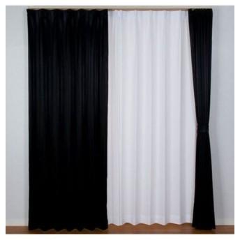 【送料無料!】光沢のあるストライプ柄。1級遮光カーテン ドレープカーテン(遮光あり・なし)