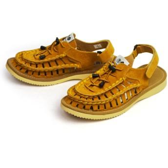 サンダル - ShoeSquare サンダル メンズ スポーツサンダル ストラップサンダル グラディエーター サボサンダル スニーカーマジックテープ編み込みコンフォートサンダル 通気性 カジュアルシューズ 軽量 靴 アウトドア b51120