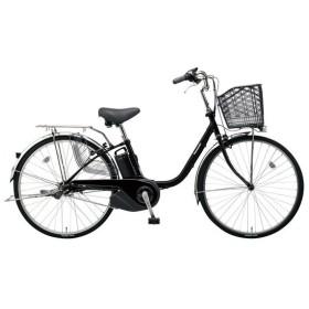 PANASONIC BE-ELSX43-B マットブラック ビビ・SX [電動自転車(24インチ・内装3段変速)]