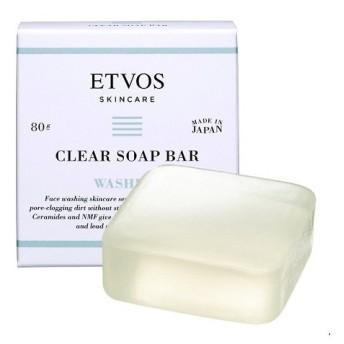 エトヴォス/セラミドスキンケア クリアソープバー 洗顔料