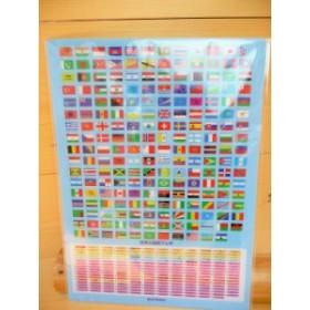 クツワ 世界の国旗【下敷き】B5サイズ