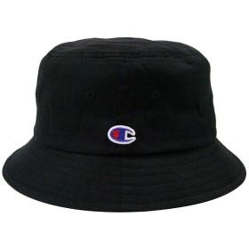 【Champion】(チャンピオン)バケットハット ブラック 黒 58cm綿100% 8color・UV対策・男女兼用・キッズ・手洗い可