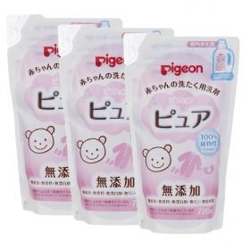 赤ちゃんの洗たく用洗剤ピュア詰替え用3個パック