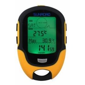 Sunroad FR500 デジタル 高度計 気圧計 コンパス 温度計 湿度計 天気予報