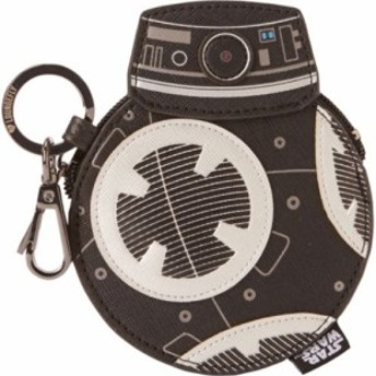 ラウンジフライ お財布 レディース【Loungefly The Last Jedi Star Wars BB-9E Coin Bag】Black