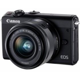 在庫あり翌営業日発送OK A-8 お一人様1台限り EOSM100BK-1545LK canon キヤノン ミラーレスカメラ EF-M15-45 IS STMレンズキット