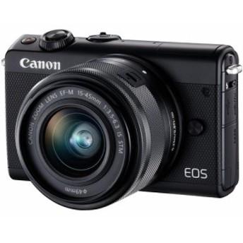 納期約1~2週間 お一人様1台限り EOSM100BK-1545LK canon キヤノン ミラーレスカメラ EF-M15-45 IS STMレンズキット