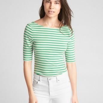 Gap モダンストライプ バレエバックTシャツ