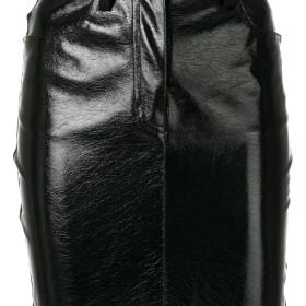 Just Cavalli パネルスカート - ブラック