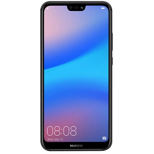 HUAWEI P20 lite Midnight Black「51092NAH」Kirin 659 5.84型・メモリ/ストレージ:4GB/32GB nanoSIMx2 SIMフリースマートフォン