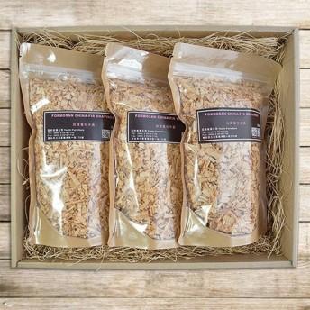 ウッドシェービングギフトボックス(3個) - 寮樟牛樟。寮国香杉。台香香杉三三種可配道