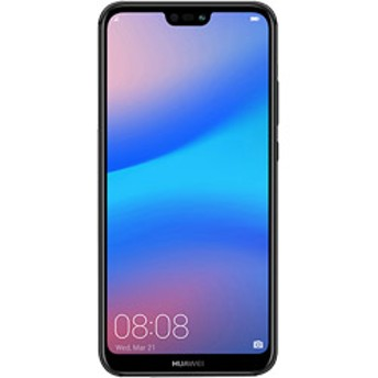 HUAWEI P20 lite Midnight Black「51092NAH」Kirin 659 5.84型 nanoSIMx2 DSDS対応 SIMフリースマートフォン