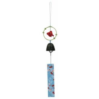 「南部鉄風鈴 夏 涼み 金魚」鉄細工 夏の風物詩 和みの和雑貨