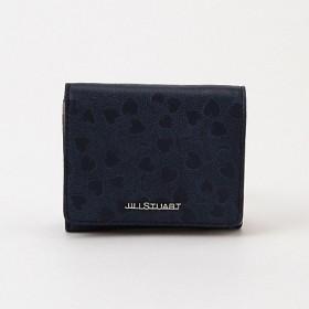 <ジル スチュアート> 「ラブリーフ」三ツ折財布(JSLW8BS2) ネイビー(30) 【三越・伊勢丹/公式】
