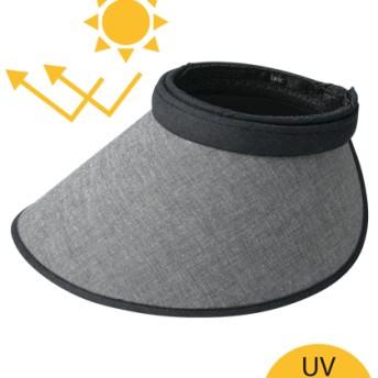 UV美肌ワイドセルクリップバイザー