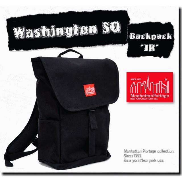 a86be5d21f8a 【国内正規品】/Manhattan Portage Washington SQ Backpack JR/【マンハッタンポーテージ