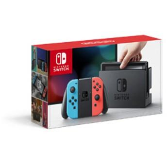 Nintendo Switch Joy-Con(L) ネオンブルー/(R) ネオンレッド (ニンテンドースイッチ) [ゲーム機本体] [HAC-S-KABA]