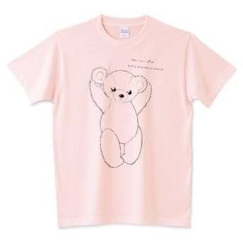 ぼろぼろテディベアーTシャツ 4種類 全12色 受注制作 お子様 大きいサイズ