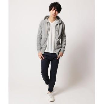 Tシャツ - SPUTNICKS メンズ カットソー メンズファッション 千鳥 ジャガード Vネック 長袖カットソー SPU スプ