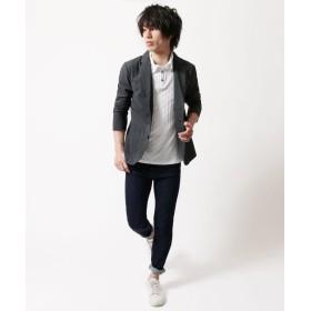 ポロシャツ - SPUTNICKS ポロシャツ メンズ 父の日 春 夏 新作 メンズファッション ダイヤ / ブロック ジャガード 半袖 ポロ シャツ Buyer'sSelect バイヤーズセレクト