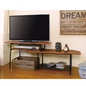 KOEKI スライドTVボード TVS-B80(BR) ブラウン W80-131xD40xH44cm
