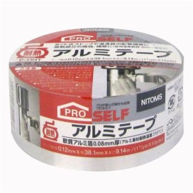 ニトムズ 耐熱アルミテープ P-11HT 24巻入/J3010 38.1mmx9.14m