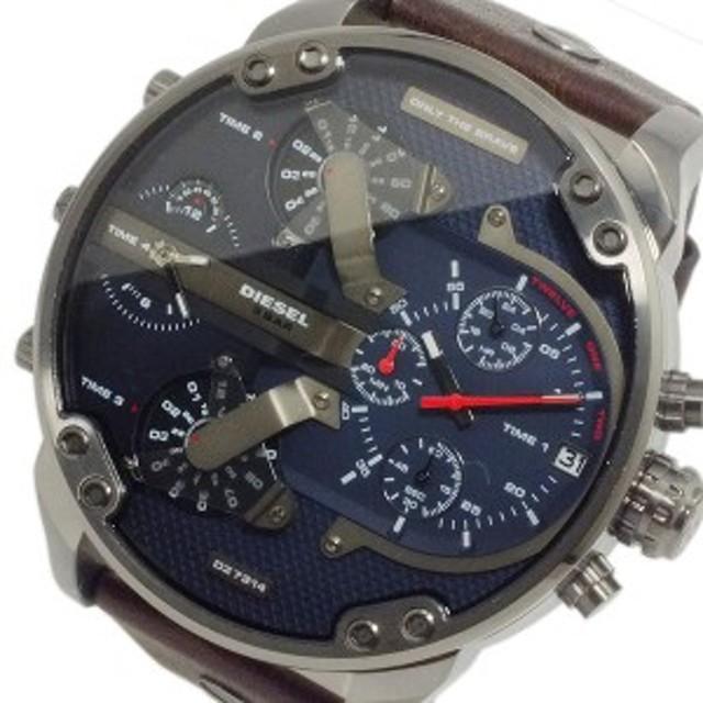 74e6a8ac12 ディーゼル 腕時計 メンズ DIESEL 時計 ミスター ダディ 4タイム 大きい 人気 ランキング ブランド おしゃれ 男性 ギフト