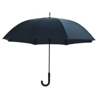 DCMブランド 軽くて丈夫な耐風傘 ブラック/65cm