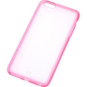 レイ・アウト iPhone6 PLus カラフル・ソフトシェル/クリアレッド RT-P8CC2/TR (1コ入)