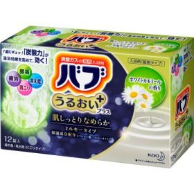 バブ うるおいプラス ホワイトカモミールの香り (12錠)