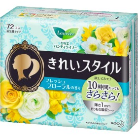 ロリエ きれいスタイル フレッシュフローラルの香り (72コ入)