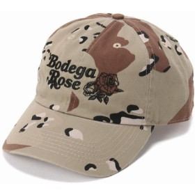 JOURNAL STANDARD BODEGA ROSE /ボデガローズ: EMBROIDERED HAT ブラウン B フリー