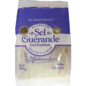 ゲランドの塩 細粒塩 (500g)