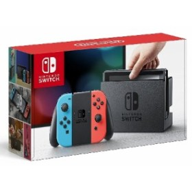 Nintendo Switch with Neon Blue and Neon Red Joy-Con(USA版)〈Nintendo〉[新品・正規品]