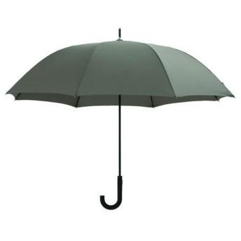 DCMブランド 軽くて丈夫な耐風傘 オリーブ/65cm