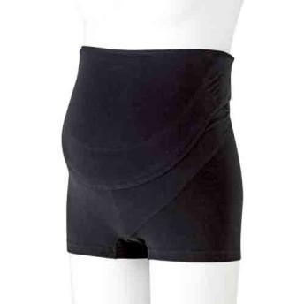 犬印 検診便利パンツ妊婦帯 HB8367 ブラック Mサイズ (1枚入)