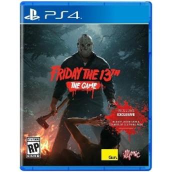 PS4 Friday The 13th:The Game USA(フライデー・ザ・サーティーンス:ゲーム北米版)〈Gun Media〉[新品]