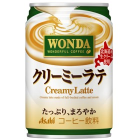 ワンダ クリーミーラテ (280g24本入)