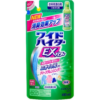 ワイドハイター EXパワー 漂白剤 詰め替え (480mL)