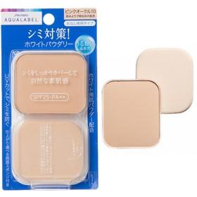 資生堂 アクアレーベル ホワイトパウダリー ピンクオークル10 レフィル (11.5g)