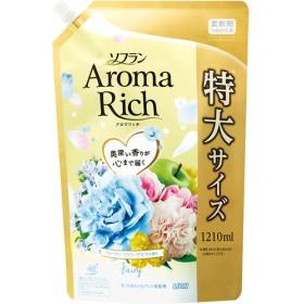 ソフラン アロマリッチ フェアリー ウォータリーフラワーアロマの香り 詰替用特大 (1210mL)