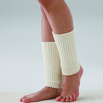 ゆったり編んだシルク混サポーター 足首用 (2枚入)