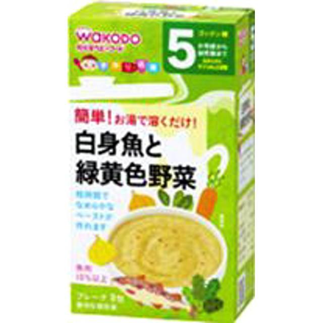 和光堂 手作り応援 白身魚と緑黄色野菜 (2.3g8包)