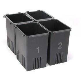 備長炭入り 野菜スタンド菜鮮箱 SSB4 (4コ入)