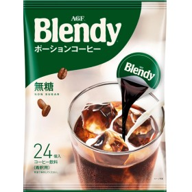 ブレンディ ポーションコーヒー 無糖 (18g24コ入)