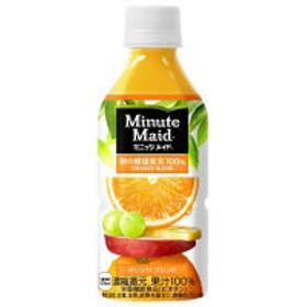 コカ・コーラ ミニッツメイド 朝の健康果実 オレンジブレンド 350ml 1箱(24本入)