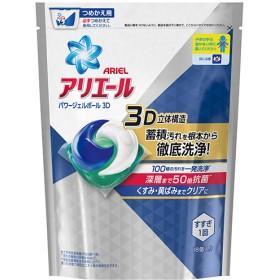 アリエール 洗濯洗剤 パワージェルボール3D 詰め替え (18コ入)
